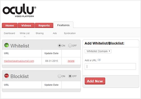 Whitelist URL, IP Blocking, IP Allow