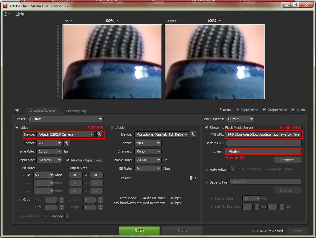 How To Start Streaming with Flash Media Live Encoder * Oculu Platform